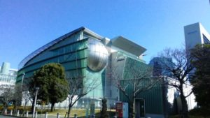 日本科学未来館(外観)MOVE生きものになれる展