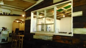 A to Z cafe 店内