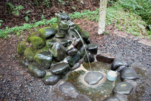 龍ヶ窪・手前の水飲み場