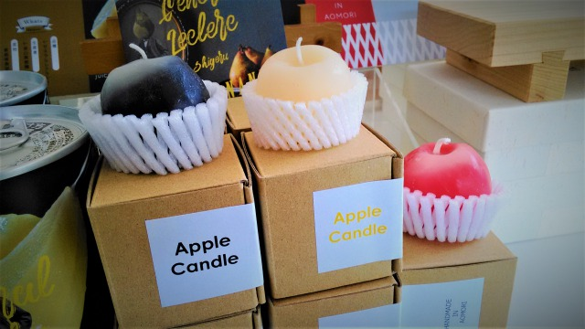 りんごのキャンドル