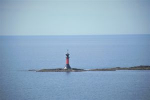 ムーミンみたいな灯台