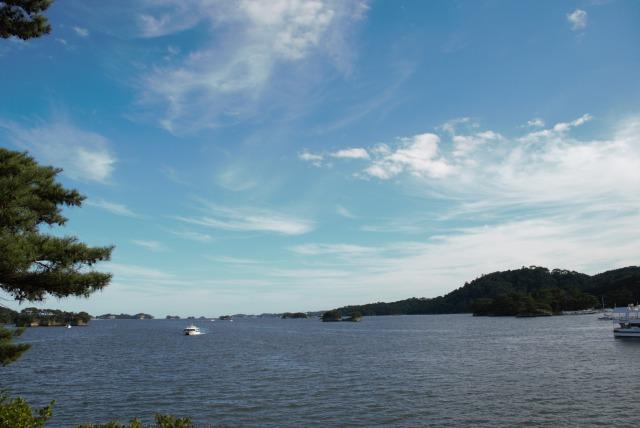 松島五大堂からの景色