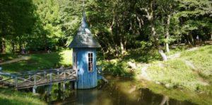水浴び小屋