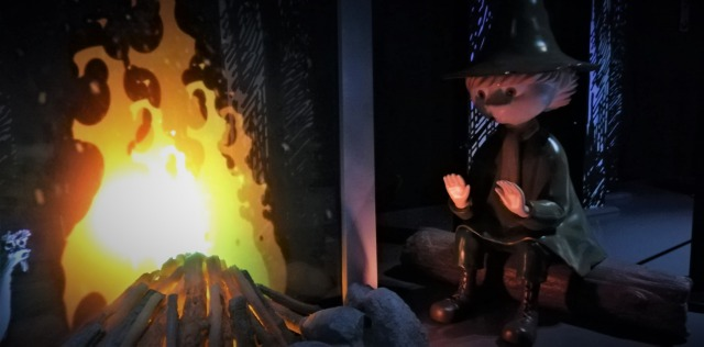 スナフキンとティーティーウー焚火