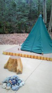 スナフキンのテント